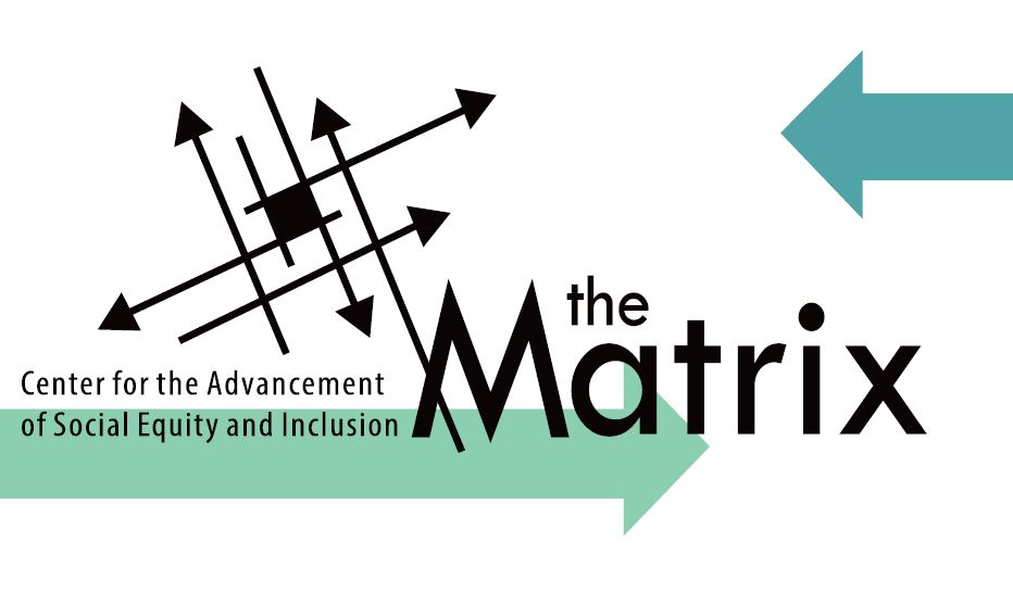 logo for the matrix center for the advancement of social equity and inclusion